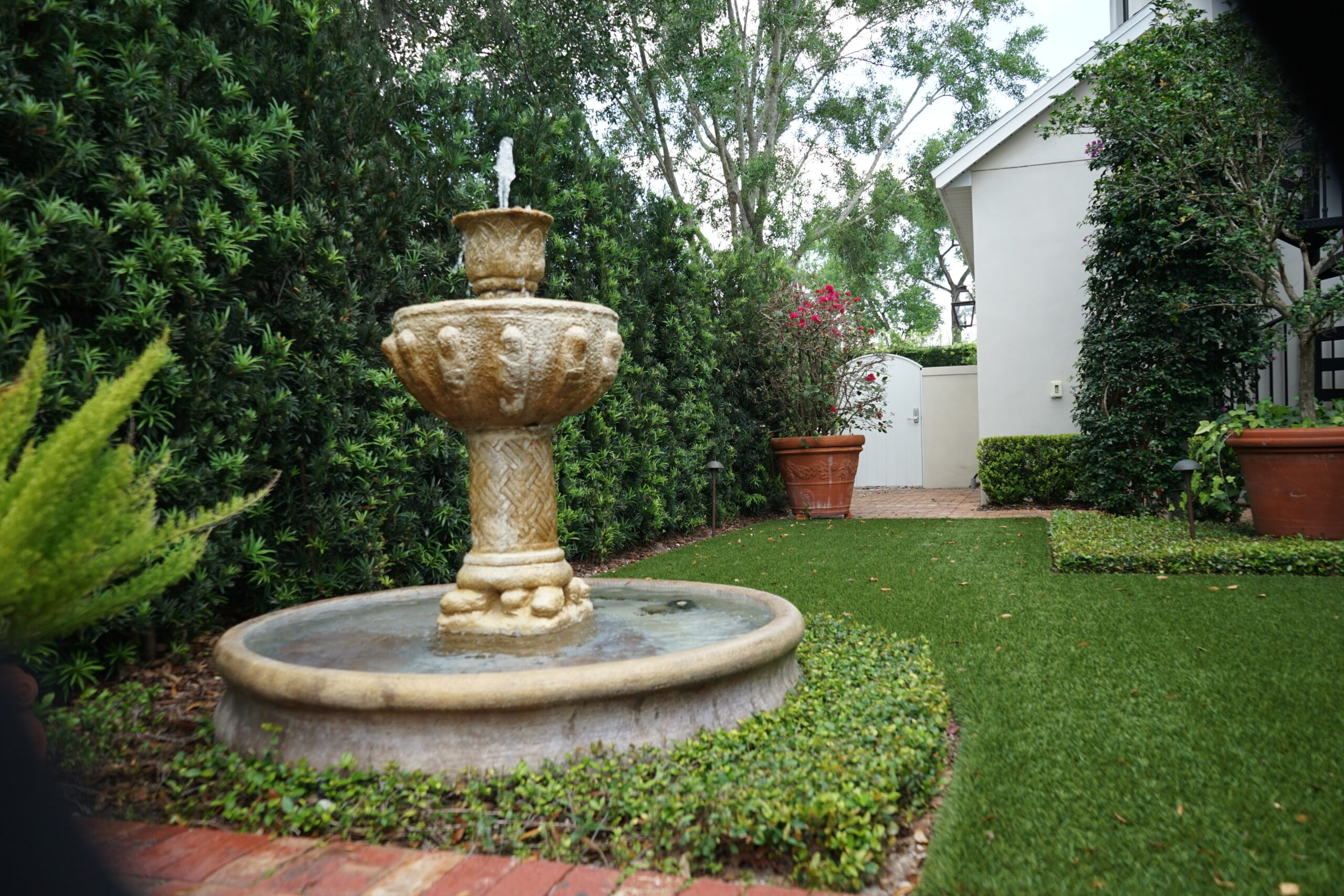Lake Mary Fountain By Landscape Improvements