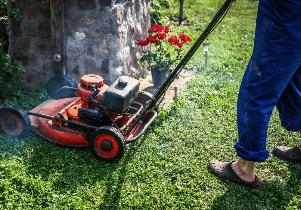 Mowing your lawn | Landscape Improvements